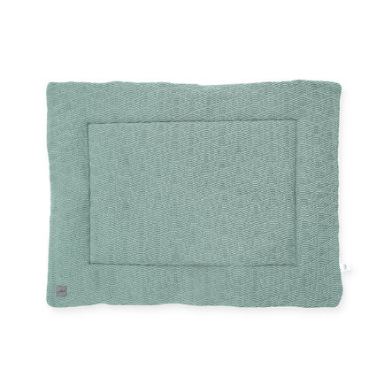 jollein Couverture d'éveil River knit ash green 80x100 cm