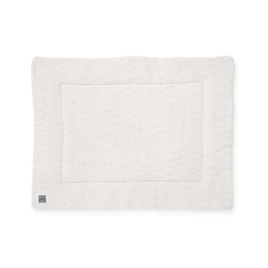 jollein Krabbeldecke River knit cream white 80x100 cm