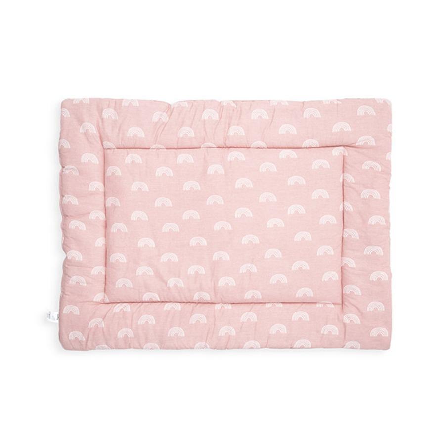 jollein Krabbeldecke Rainbow blush pink 80x100 cm