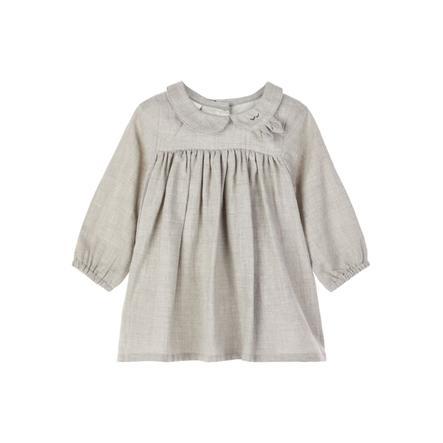 NAME IT Tyttöjen mekko Odille Grey Melange