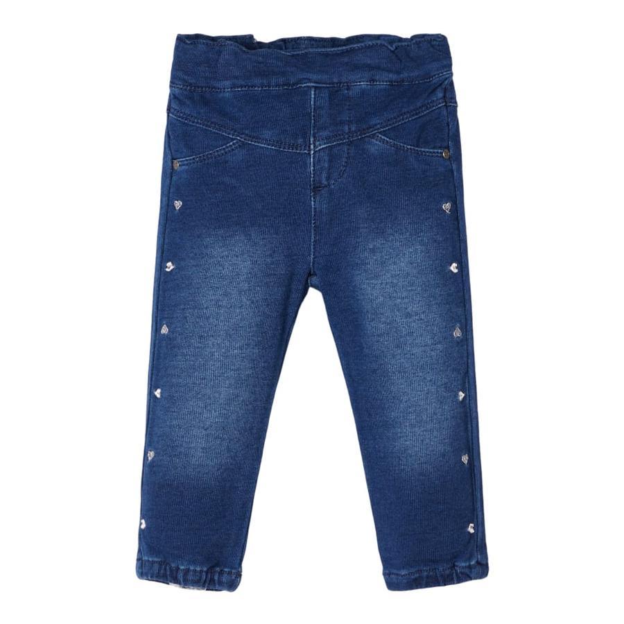 name it Girls Jeans denim medium bleu