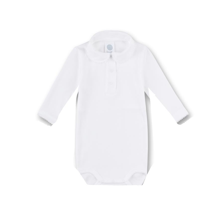 Sanetta Body 1/1 Arm mit Kragen weiß