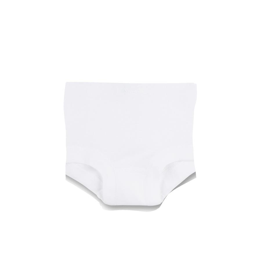 Sanetta-alushousut rikki valkoisina