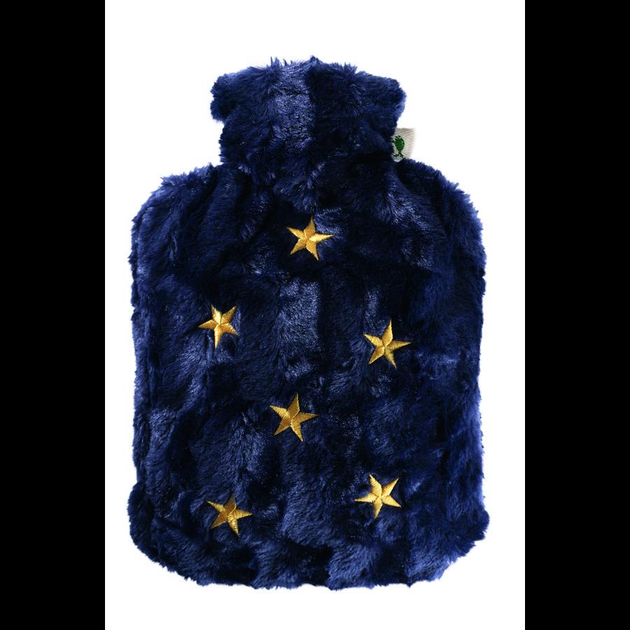HUGO FROSCH Varmepude Klassik 1,8 L fleece-coverstjerner