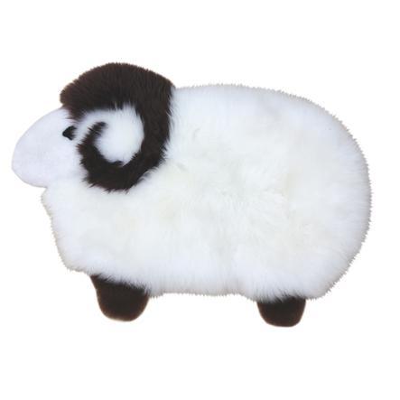 Heitmann Tappeto Play in pelle di agnello Pecora