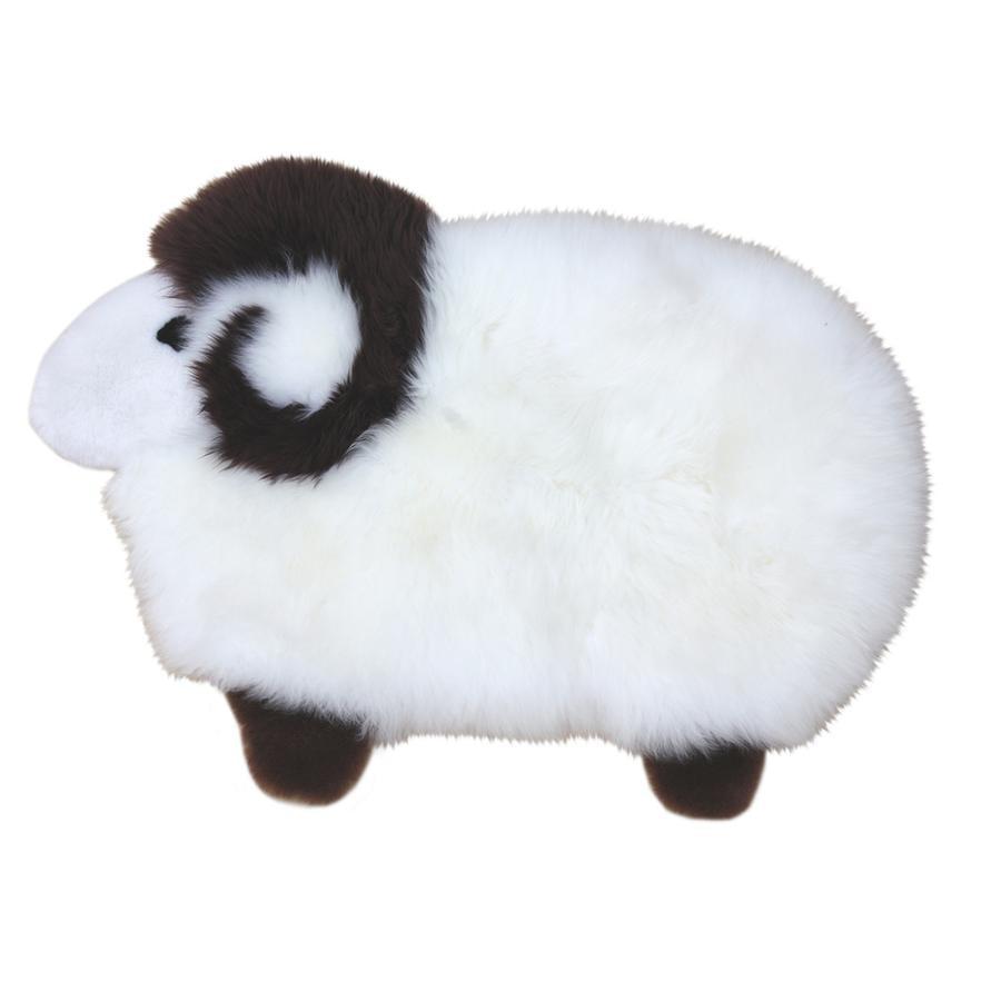 Heitmann Tapis de jeu enfant laine d'agneau mouton 60x82 cm