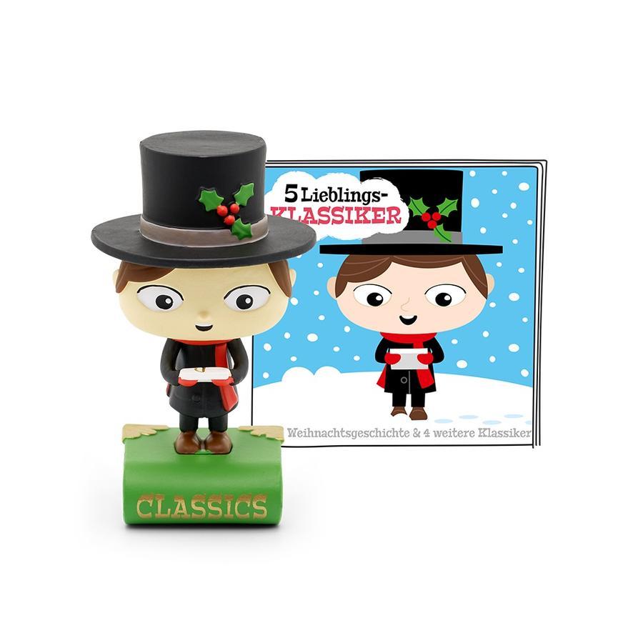 tonies® 5 Lieblings-Klassiker -Eine Weihnachtsgeschichte und vier weitere Klassiker