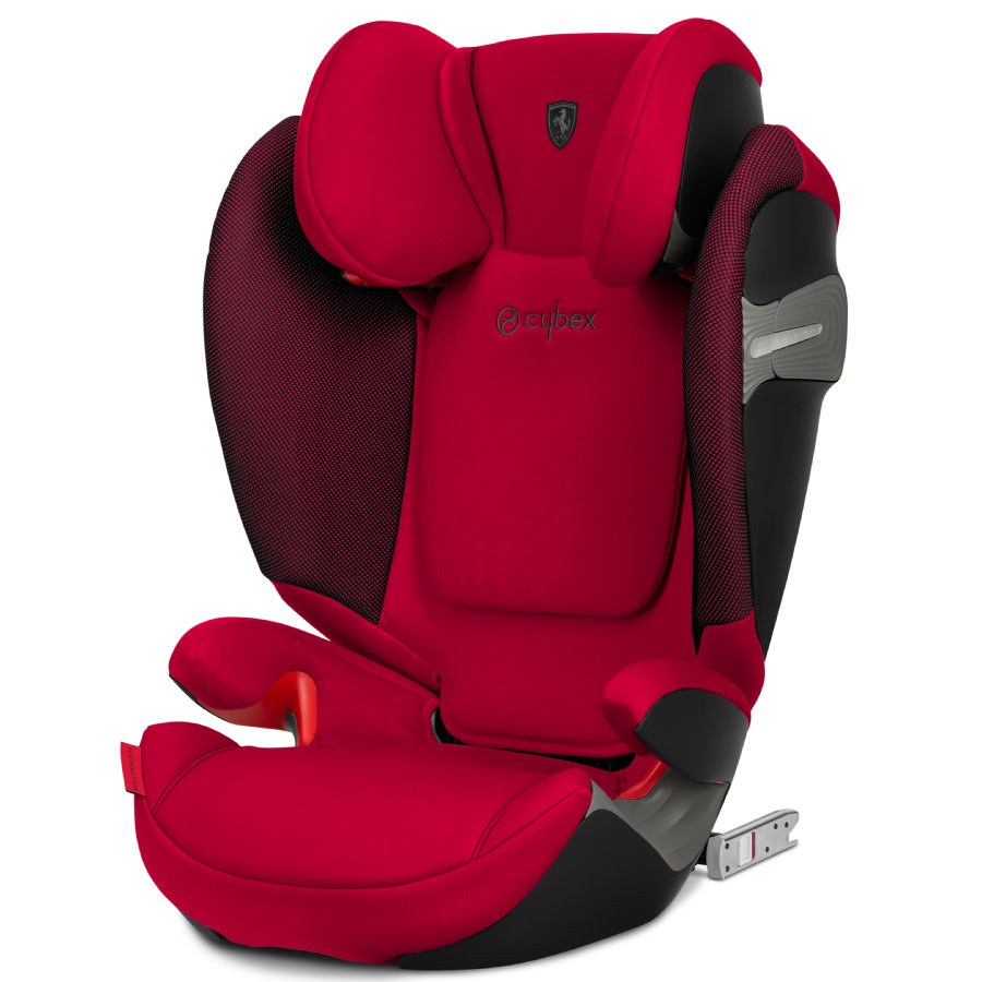 cybex GOLD Kindersitz Solution S-Fix Scuderia Ferrari Racing Red