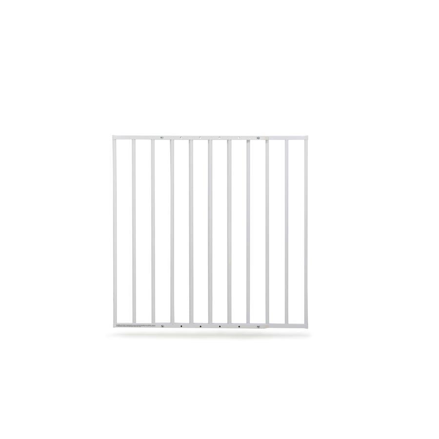 geuther Rejilla de protección de la puerta 60-107 cm blanca