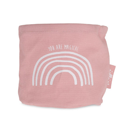 jollein Utensilo Canvas Rainbow blush pink