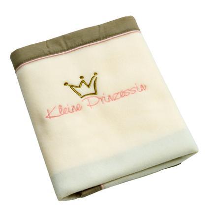 Be Be 's kolleksjon Fleece teppe LITTLEle Princess Nicki 75 x 100 cm