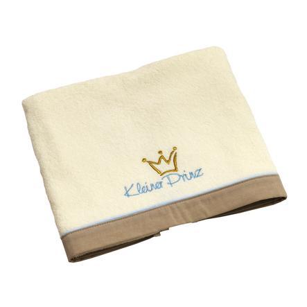 Asciugamano da bagno Be' s Collection Be' s Little Prince ecru/bleu 70 x 120 cm