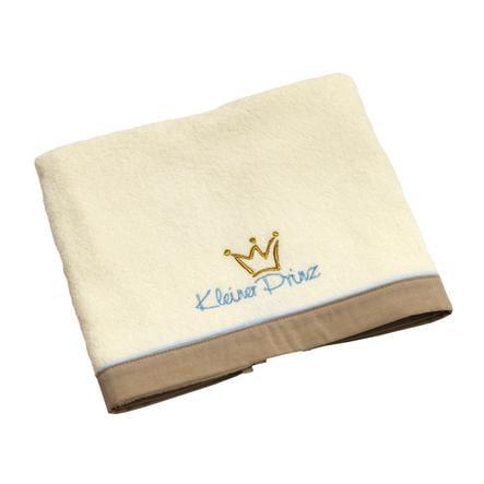 Be Be 's Collection Badehåndklæde Lille Prins ecru / bleu 70 x 120 cm