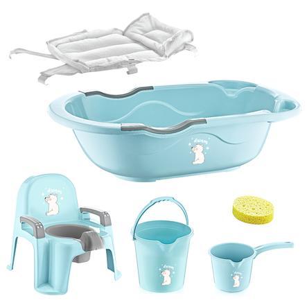 babyJem Set de bain bébé 6 pièces turquoise