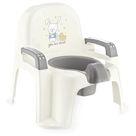 babyJem Baby Toilettentrainer - Töpfchen white