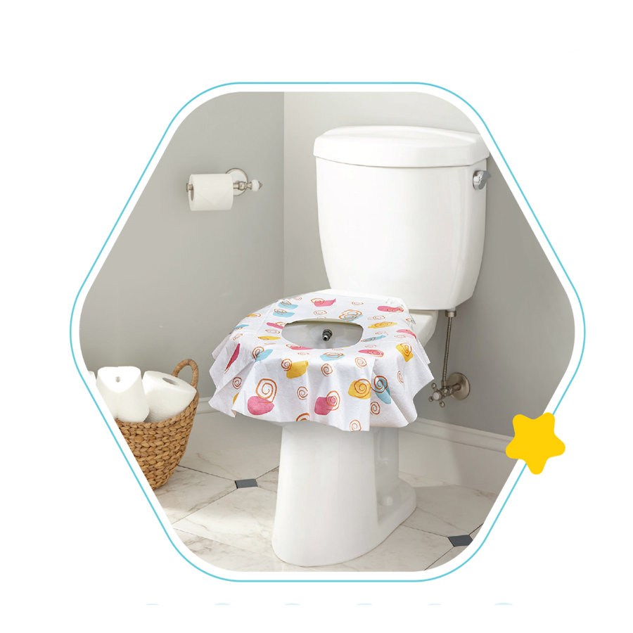 babyJem Einweg WC Sitzbezüge 10 Stück