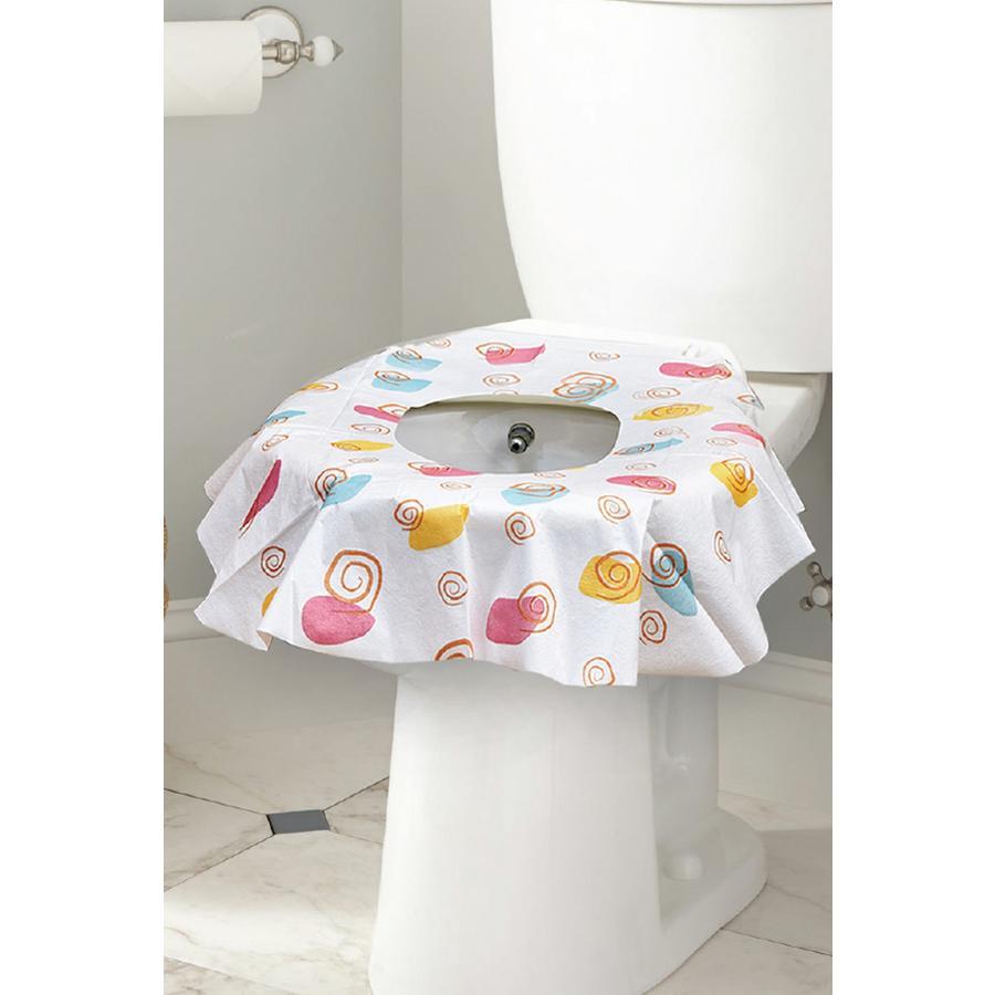 dětské sedadlo na jedno použití WC potahy 10 kusů