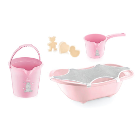 babyJem Bath set 5 delar rosa