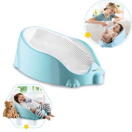 babyJem Siège de bain bébé souple turquoise