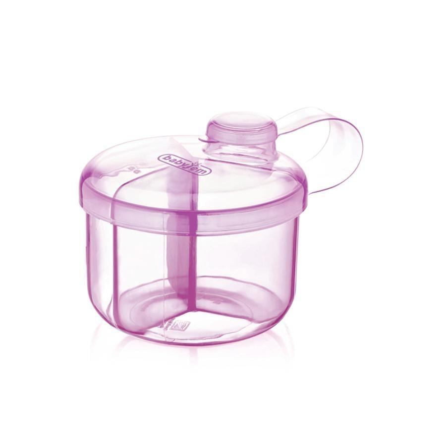 babyJem  Contenitore per latte in polvere rosa