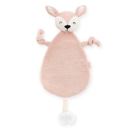 Jollein Schmusetuch Deer pale pink