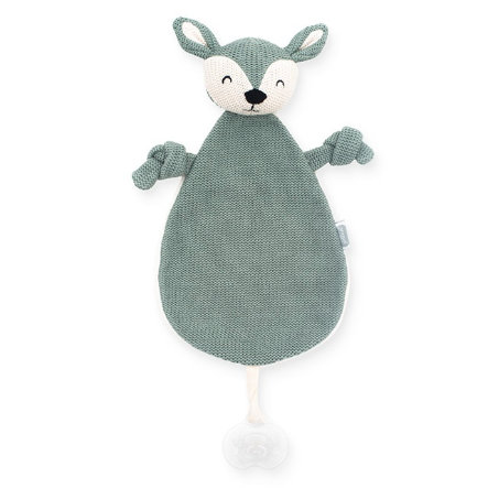 jollein Cuddle-kangas Deer tuhka vihreä