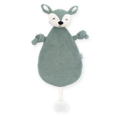 Jollein Cuddle klud Hjorteaske grøn