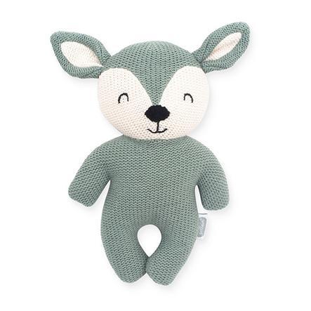 Jollein Cuddly animal Deer popel zelený