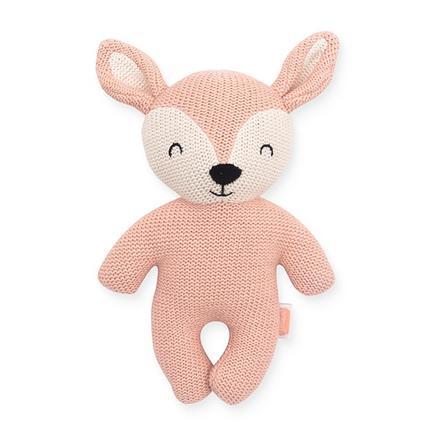 Jollein Cuddly zvíře Deer bledě růžová