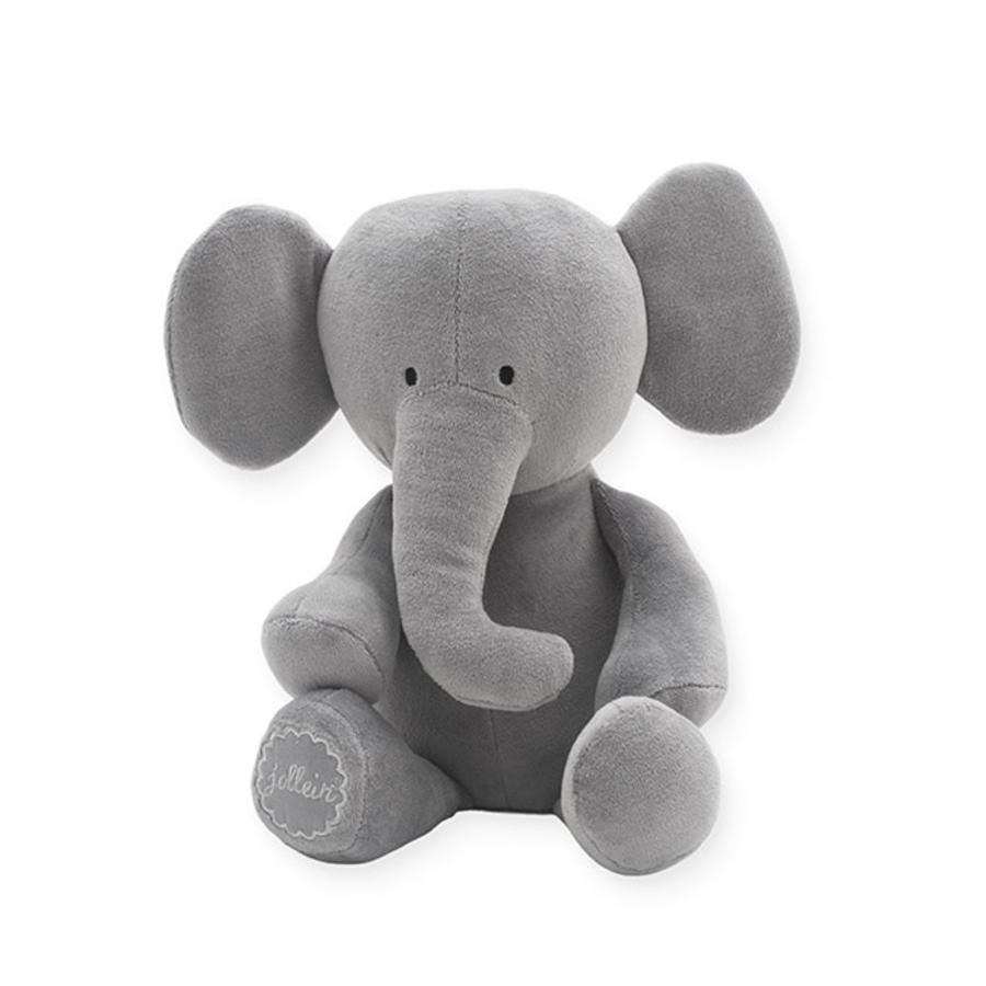Jollein Cuddly zvíře Elephant storm grey