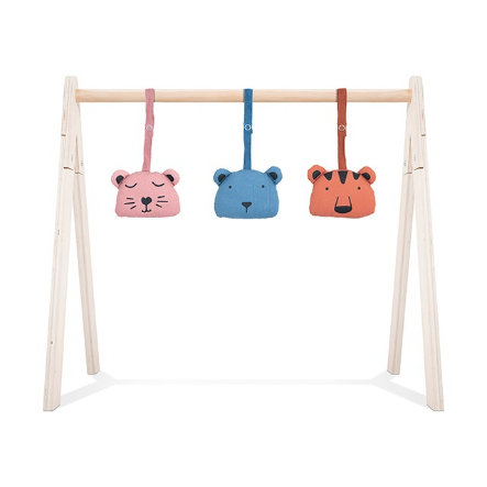 Jollein Babygym Toy Animal Club 3 kusy