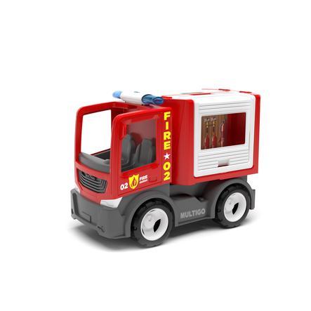 efko načítání hasičského sboru vozidla