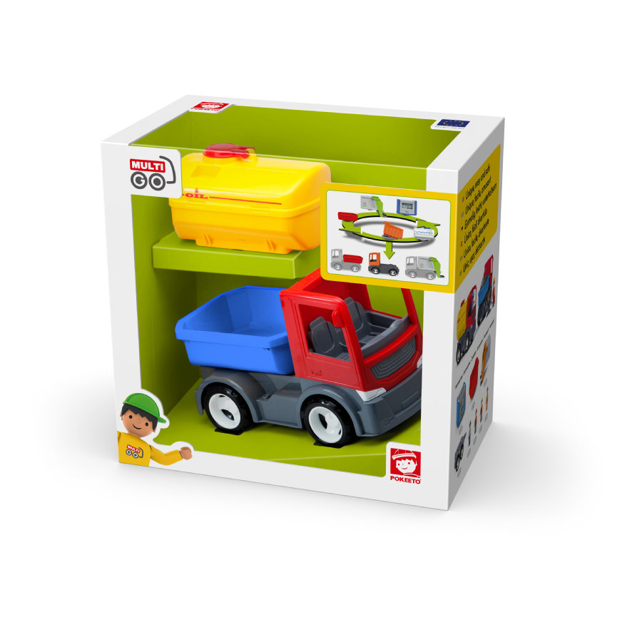 efko® Tankfahrzeug mit Anbauteilen