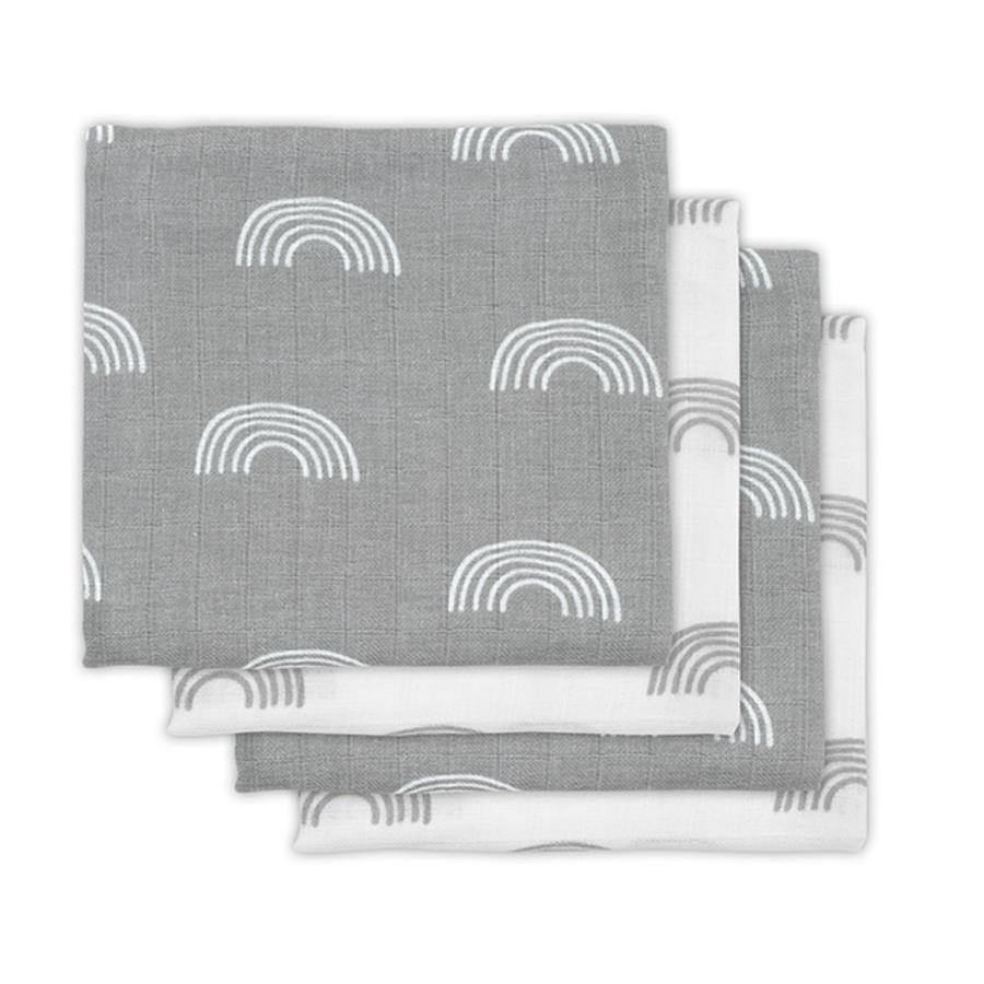 plenky Golze Golze 4ks Duha šedá 70x70cm
