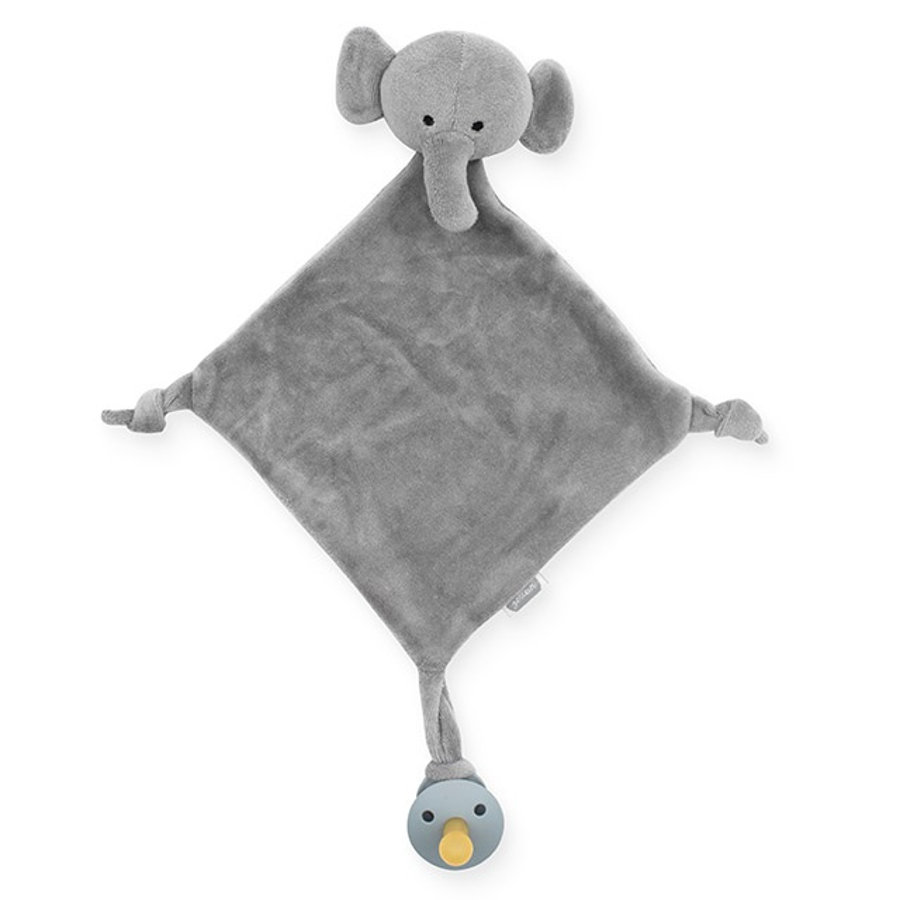 Jollein Schmusetuch Elephant storm grey