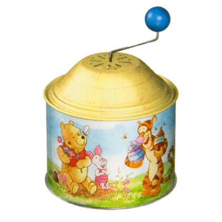 Bolz® Musikdrehdose Winnie the Pooh
