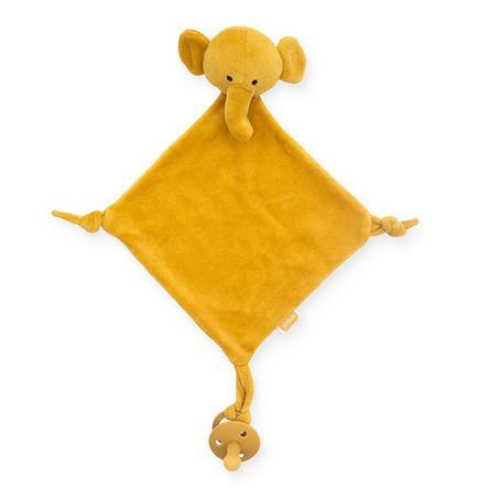 Jollein Schmusetuch Elephant mustard