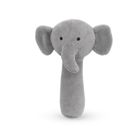 Jollein Elephant Tormenta de cascabel gris
