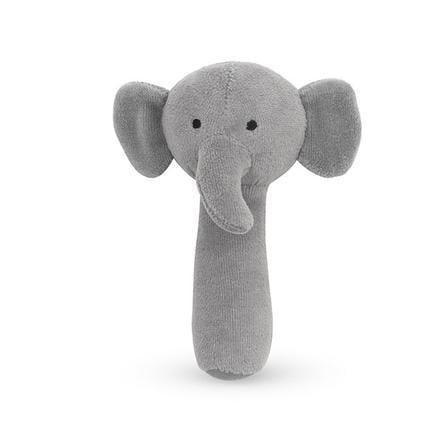 Jollein Rattle Elephant stormgrå