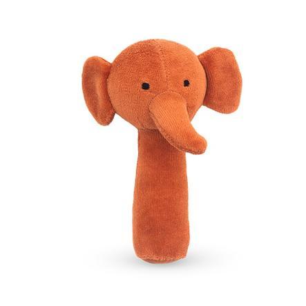 Jollein Grzechotka Elephant rdzawy