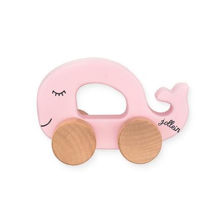 Jollein Leksaksbil Havsdjur rosa