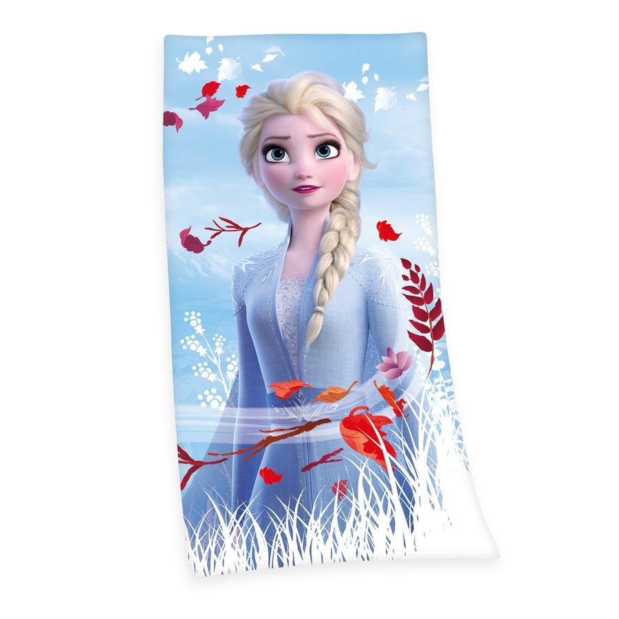 HERDING Cape de bain enfant Elsa La Reine des neiges Disney 2 75x150 cm