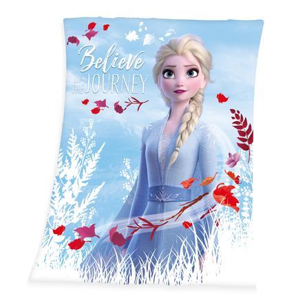 HERDING Couverture bébé polaire Elsa La Reine des neiges Disney 2 130x160 cm