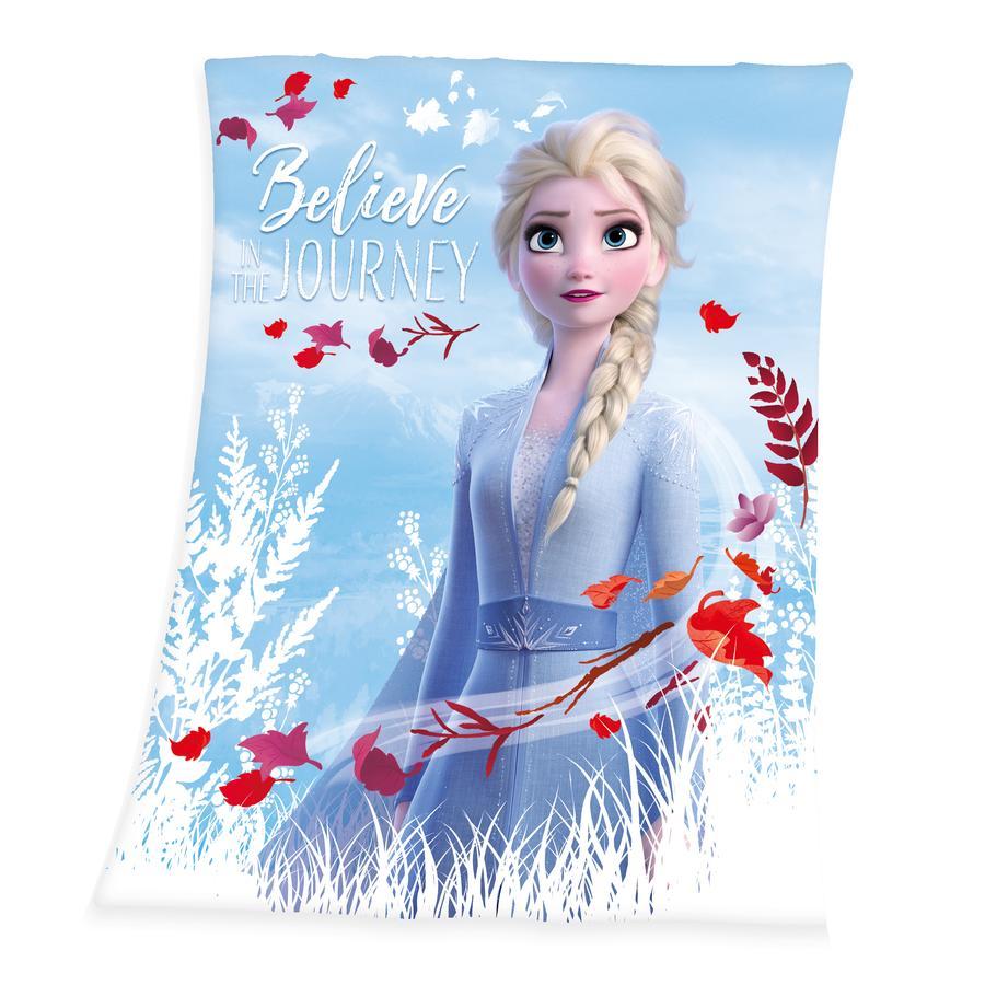 HERDING Fleece deken Disney's Ice Queen 2 -ELSA 130x160cm