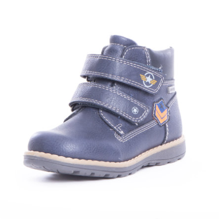 Be Mega Boys Stiefel navy klett