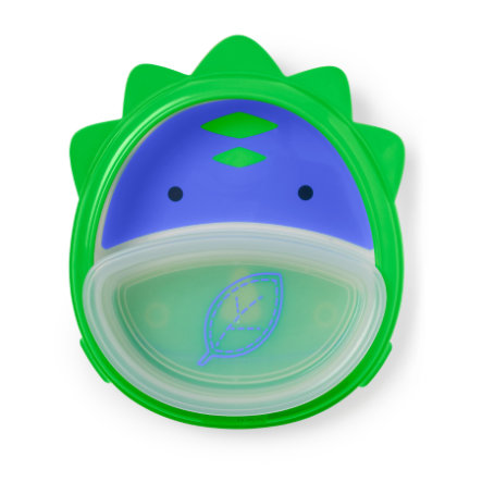 SKIP HOP Zoo Smart Serve Non - Slip Eetset Training Dino