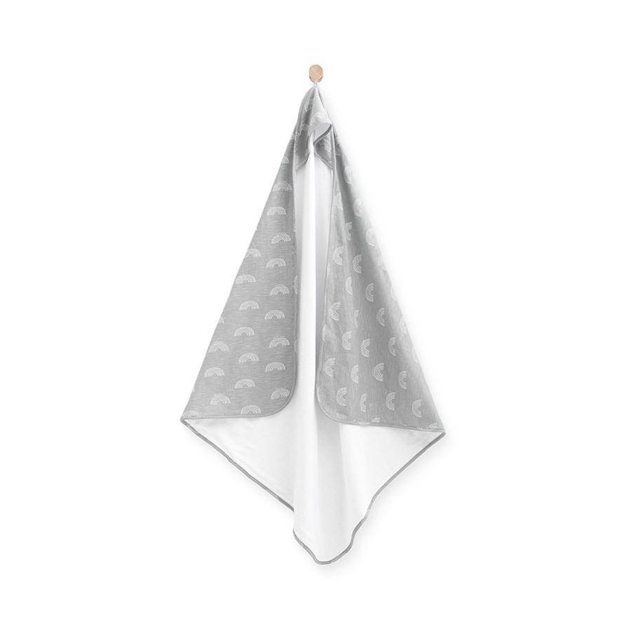 jollein Ręcznik kąpielowy z kapturem grey