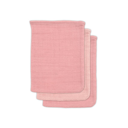 jollein Bambus vaskeklut 3-pakning lys rosa