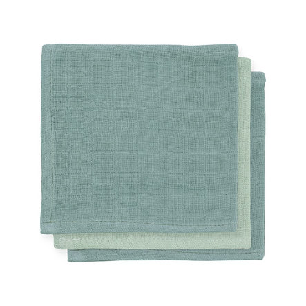 jollein Bamboo Mouth Towel 3-pack storm grey