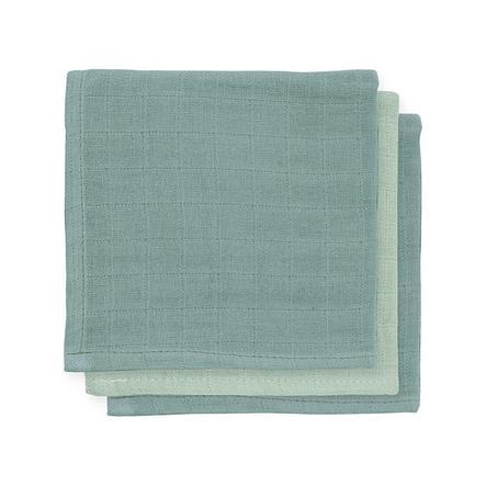 jollein Bamboo Mouth Towel 3-pakken stormgrå